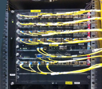 OVH.com network equipment in the Newark PoP