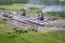 The Beauharnois industrial site before OVH.com's reallocation.