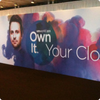 Entrance at VMworld